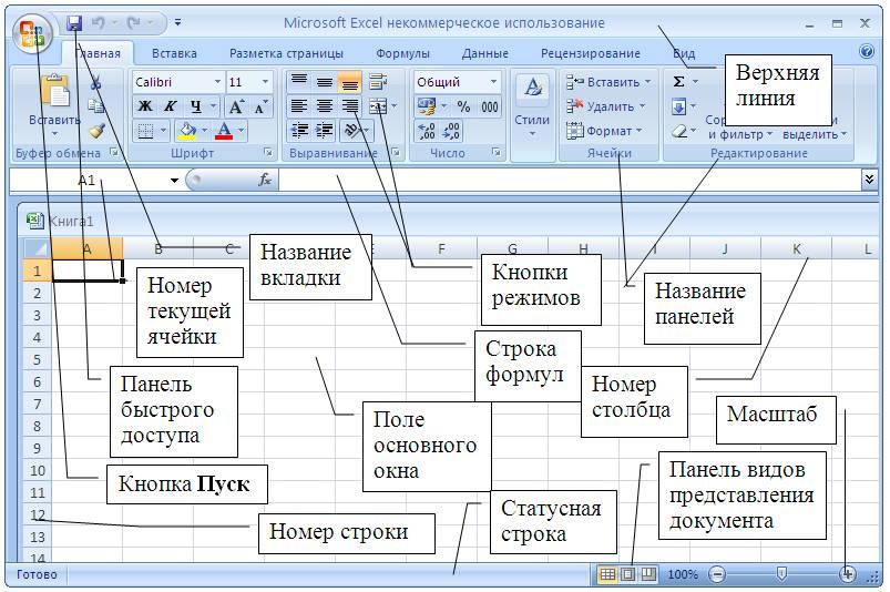 Как создать объект в excel - Russkij-Litra.ru